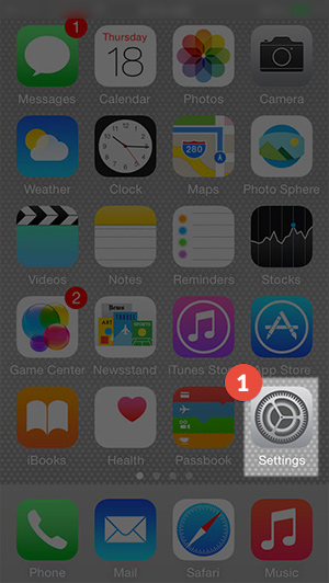 How to set up L2TP VPN on iPhone: Step 1